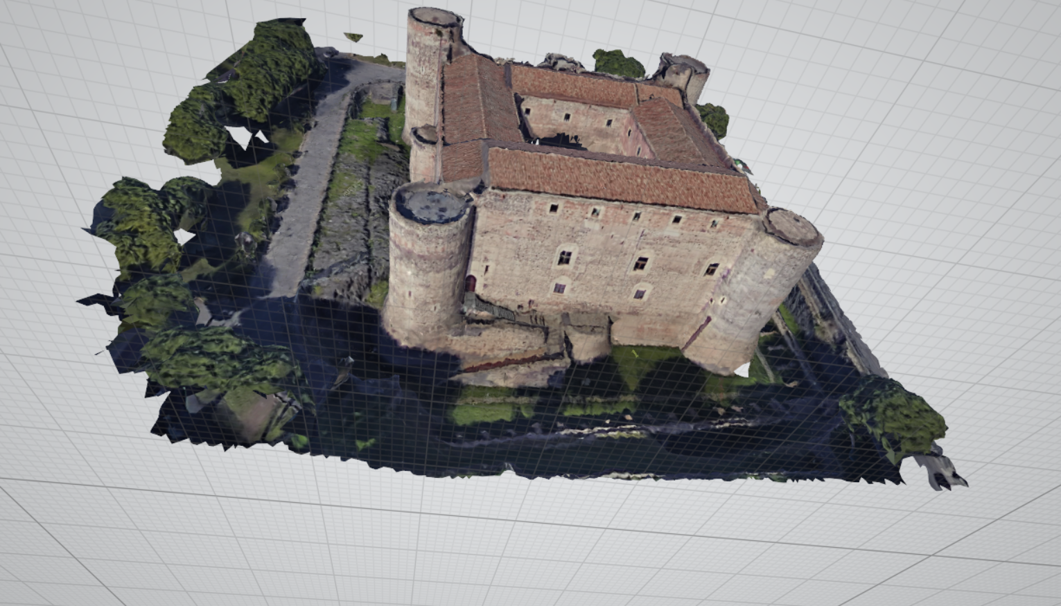 Fotogrammetria Castello Ursino