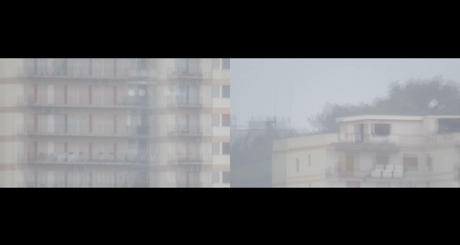 Celina Moscuzza, Homo condomini lupus II, videoinstallazione, sonoro, dimensioni variabili, 2020