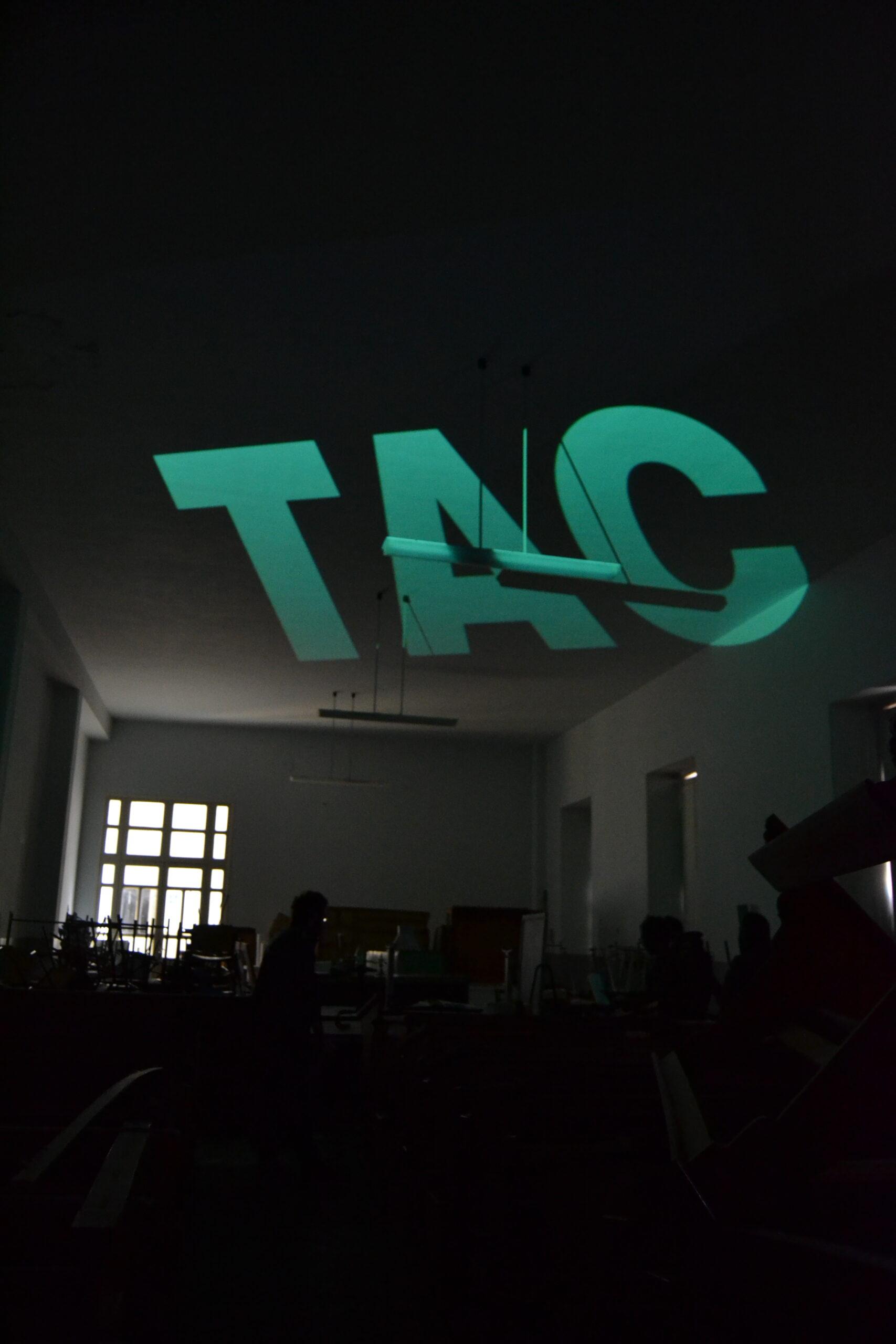 Paolo Criscione - videoinstallazione ambientale