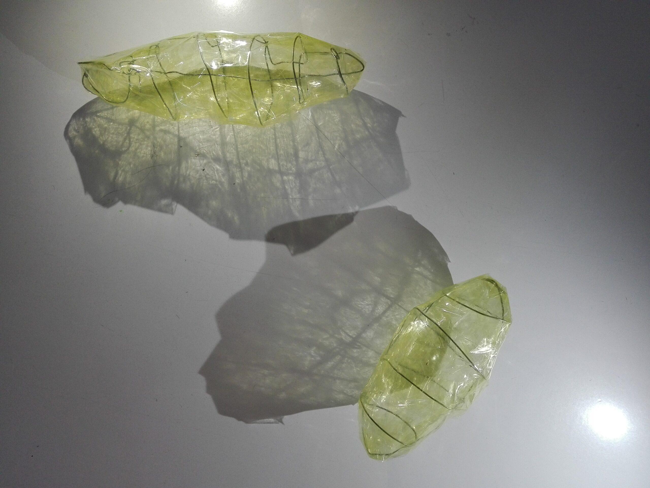 """Gabriele Fazio - """"cocoon"""" installazione ambientale"""