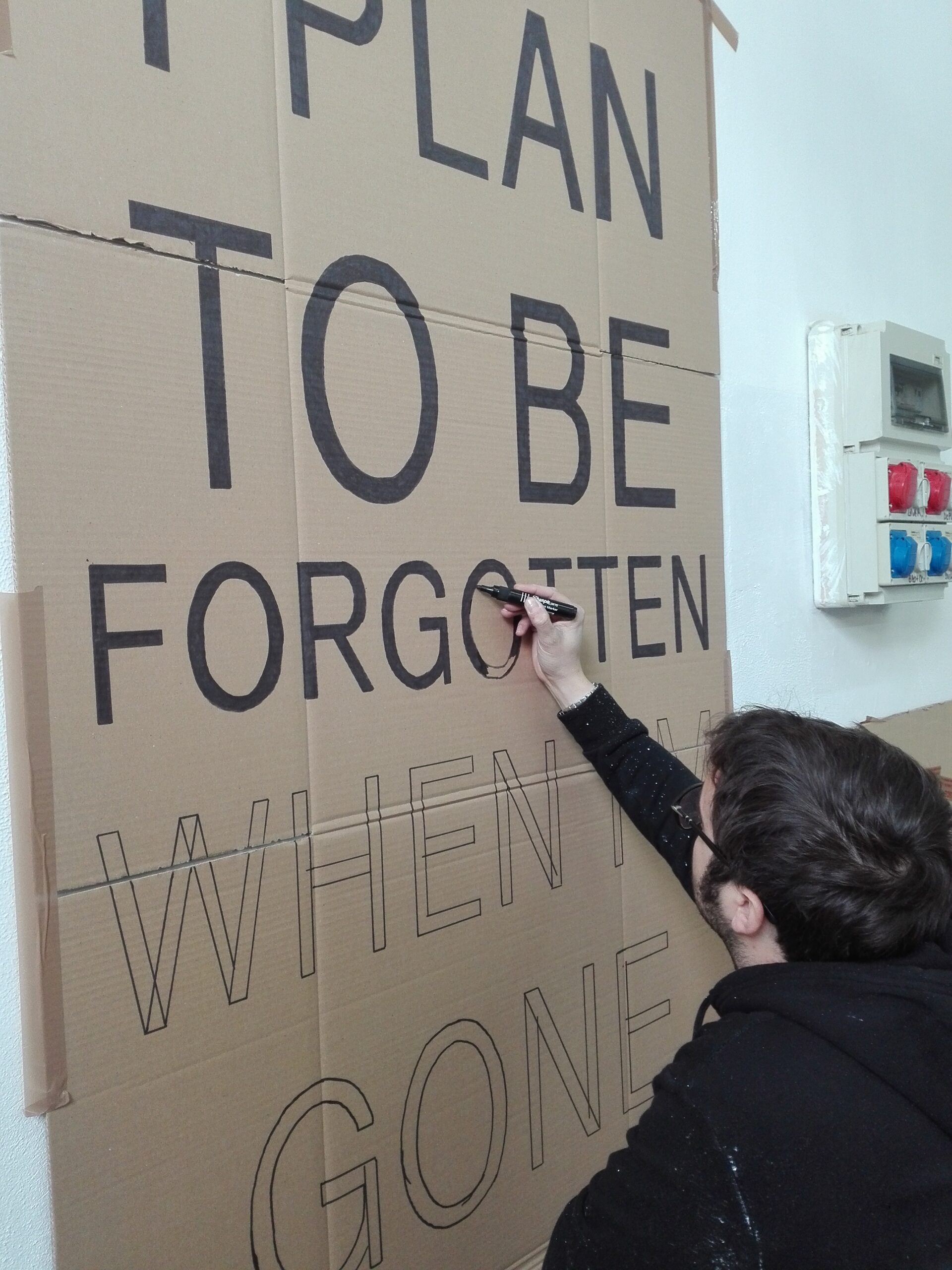 Fabrice Bernasconi Borzì - I plan to be forgotten when I'm gone