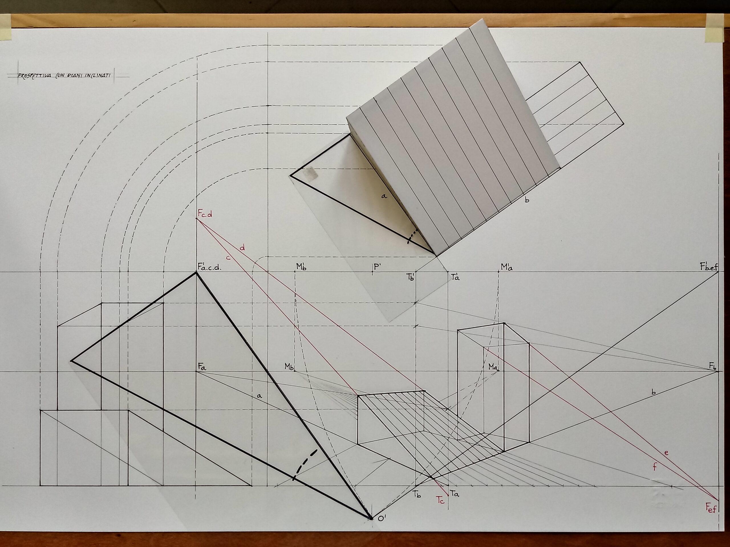 Teoria e pratica del disegno prospettico