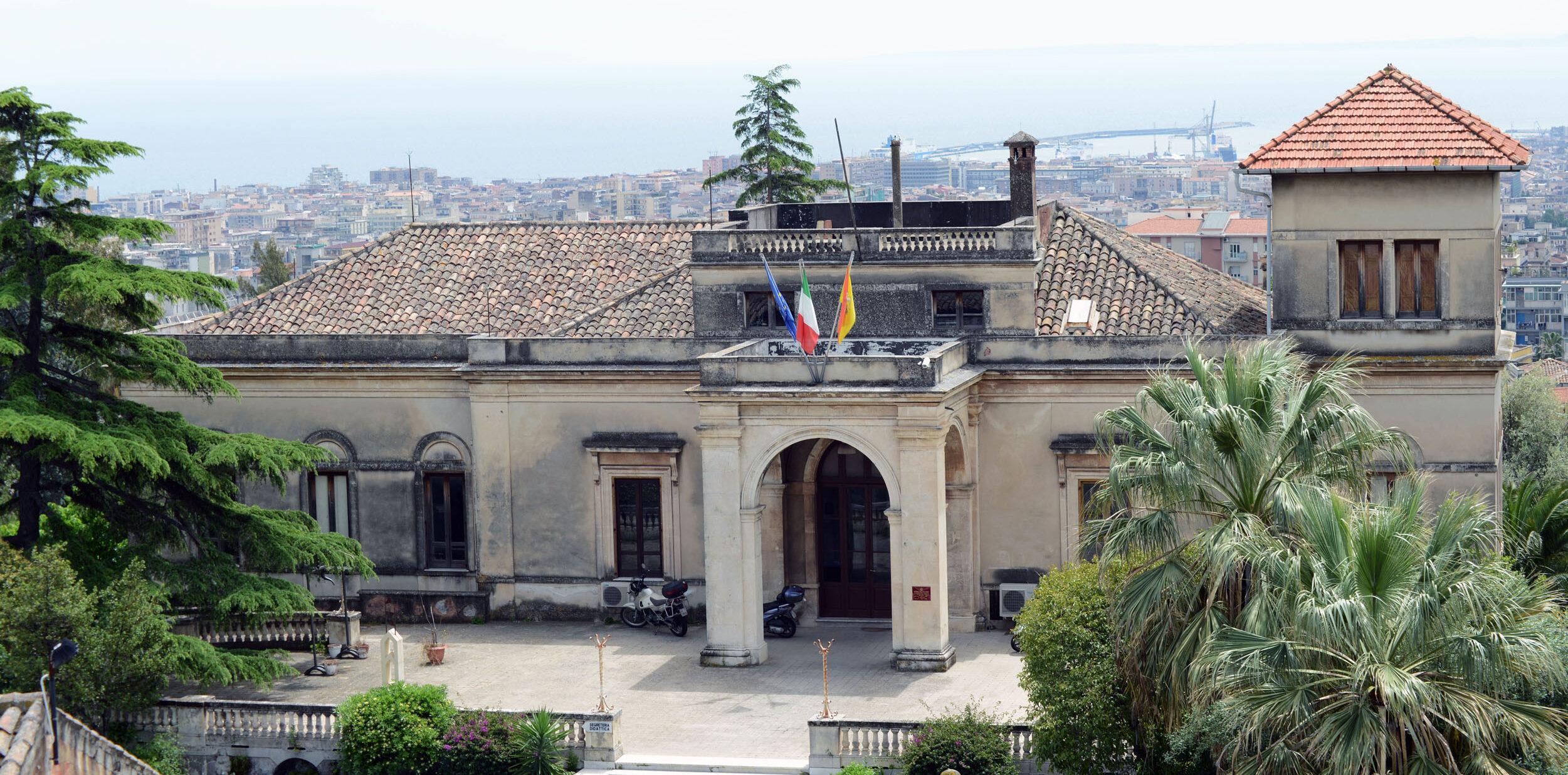 sede istituzionale villa Pantò