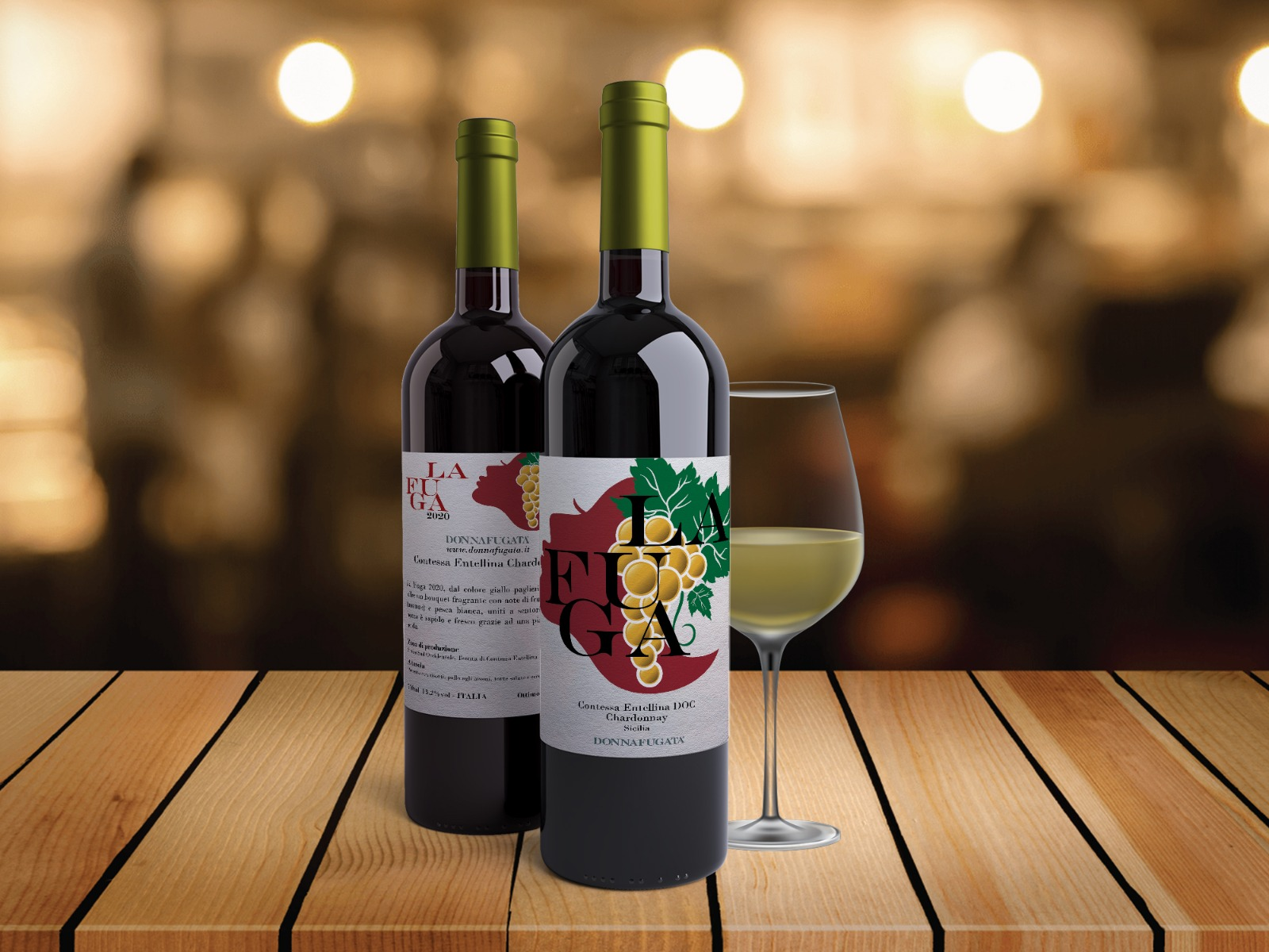 Domenico Giamboi, Etichette bottiglie di vino 2020